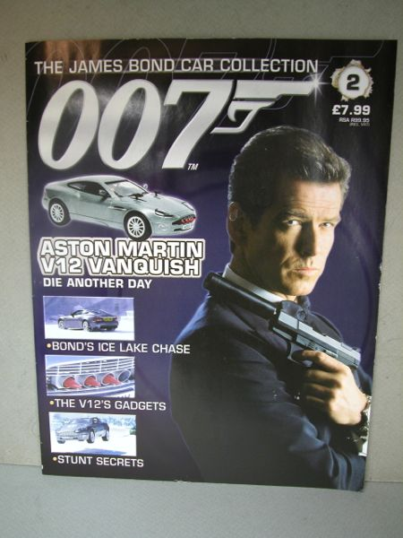007.1/43ミニカー+雑誌/THE JAMES BOND COLLECTION./No.002 雑誌