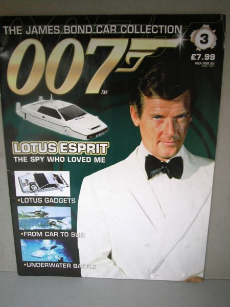 007.1/43ミニカー+雑誌/THE JAMES BOND COLLECTION./No.003 雑誌