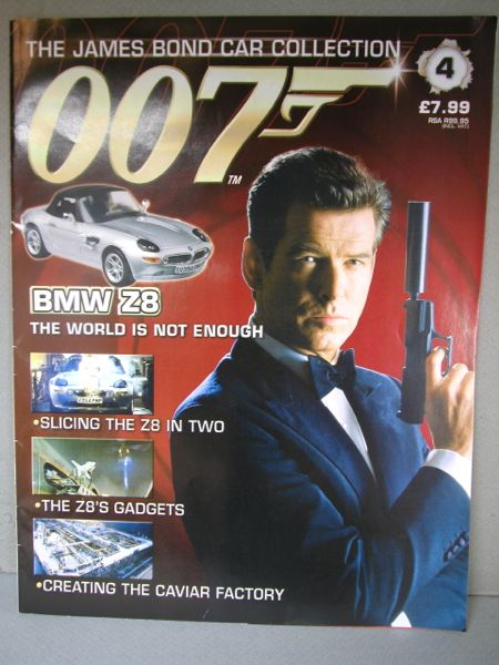 007.1/43ミニカー+雑誌/THE JAMES BOND COLLECTION./No.004 雑誌