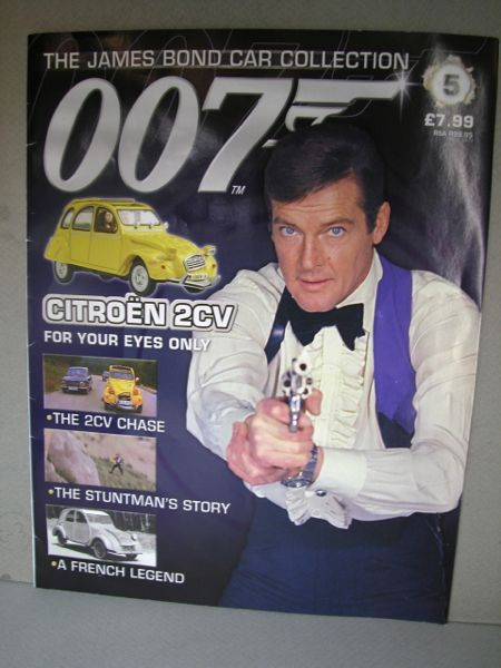 007.1/43ミニカー+雑誌/THE JAMES BOND COLLECTION./No.005 雑誌