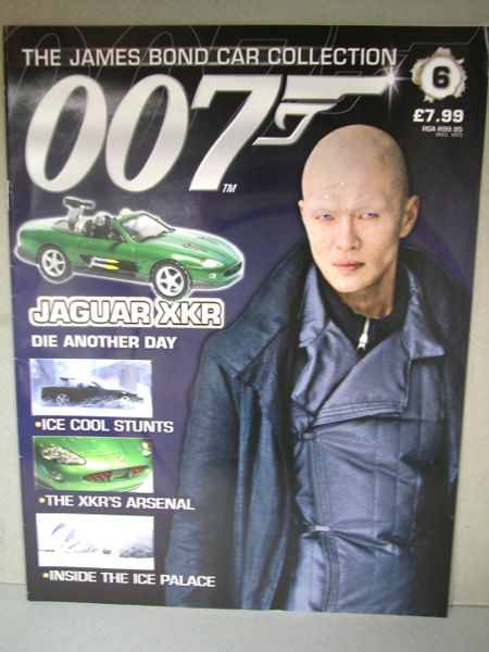 007.1/43ミニカー+雑誌/THE JAMES BOND COLLECTION./No.006 雑誌